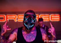 PartyHub show. Vel Johansson & Slava Ox drum show