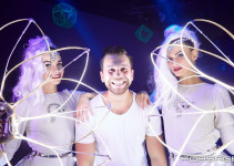 "СупердискотЭка ""White Party"" with Tabasco Led Show."