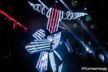 Dance invaders. Martin robot show
