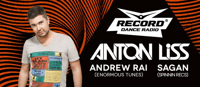 House Delivery: Anton Liss (Radio Record), Sagan (Spinnin recs), Andrew Rai (Enormous tunes)