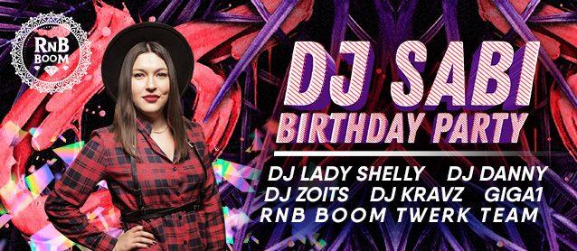RnB Boom.Dj Sabi Birthday party.