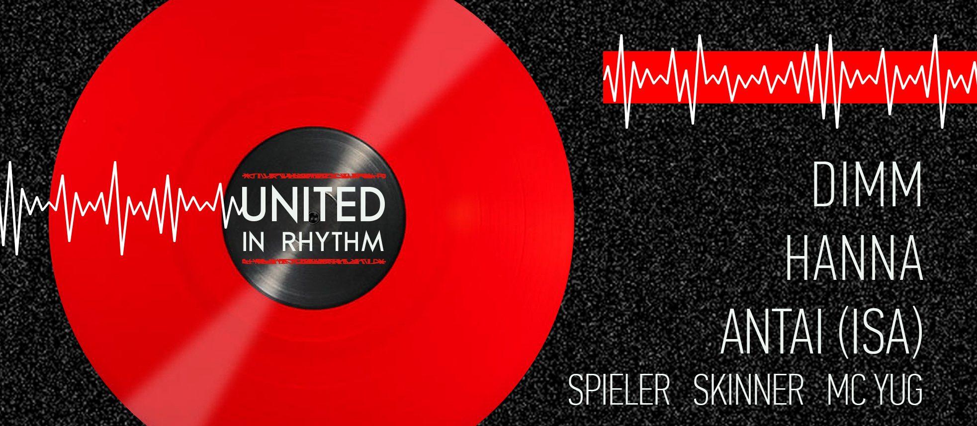United in rhythm. Hanna, Dimm, Antai (ISA)