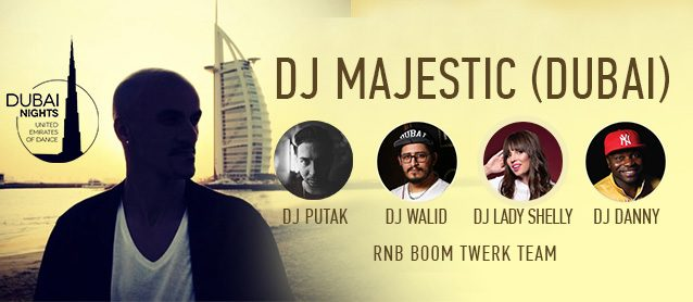 RnB BooM. United Emirates of Dance. Dj Majestic(Dubai), Dj PutaK (Persia, Iran)