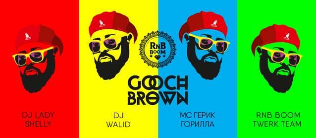 RnB BooM. Dj Gooch Brown.