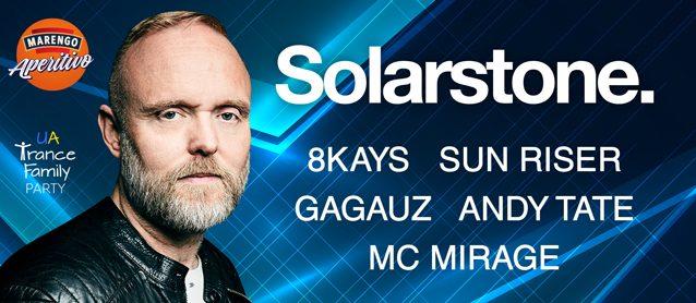 UA Trance Family party: Solarstone (UK)