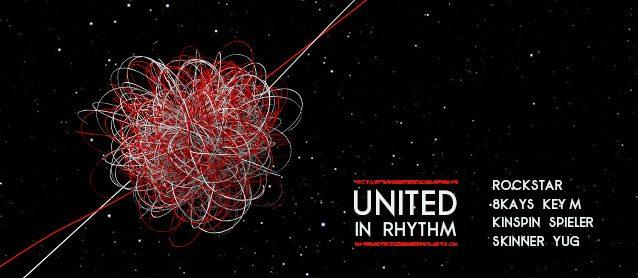 United in rhythm. 8Kays, Rockstar, KinSpin, Key M, Virt, Skinner, Mc Yug