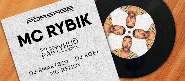 PartyHub show. Mc Рыбик, Dj Sobi, Dj Smartboy, Mc Remov