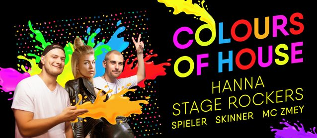 Colours Of House. Hanna, Stage Rockers