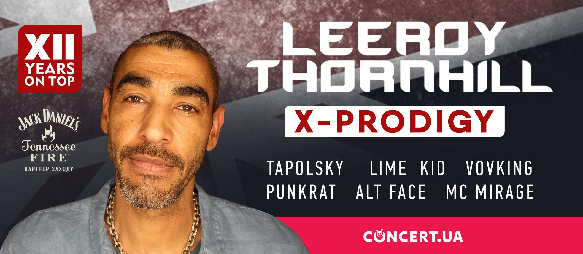 12 Years on top! Leeroy Thornhill (ex-Prodigy), Tapolsky, Lime Kid, VovKing