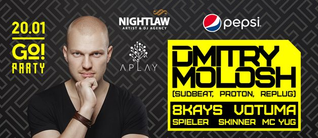 Go Party! Dmitry Molosh (Sudbeat, Proton, Replug) 8Kays, Votuma