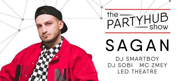PartyHub show. Dj Sagan
