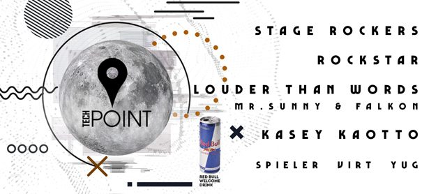 Tech Point Event. Stage Rockers, RockStar, Kasey Kaotto, Louder Than Words (Mr. Sunny & Falkon)