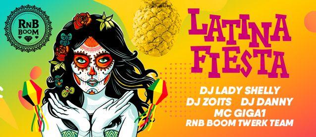 RnB Boom. Latina Fiesta.