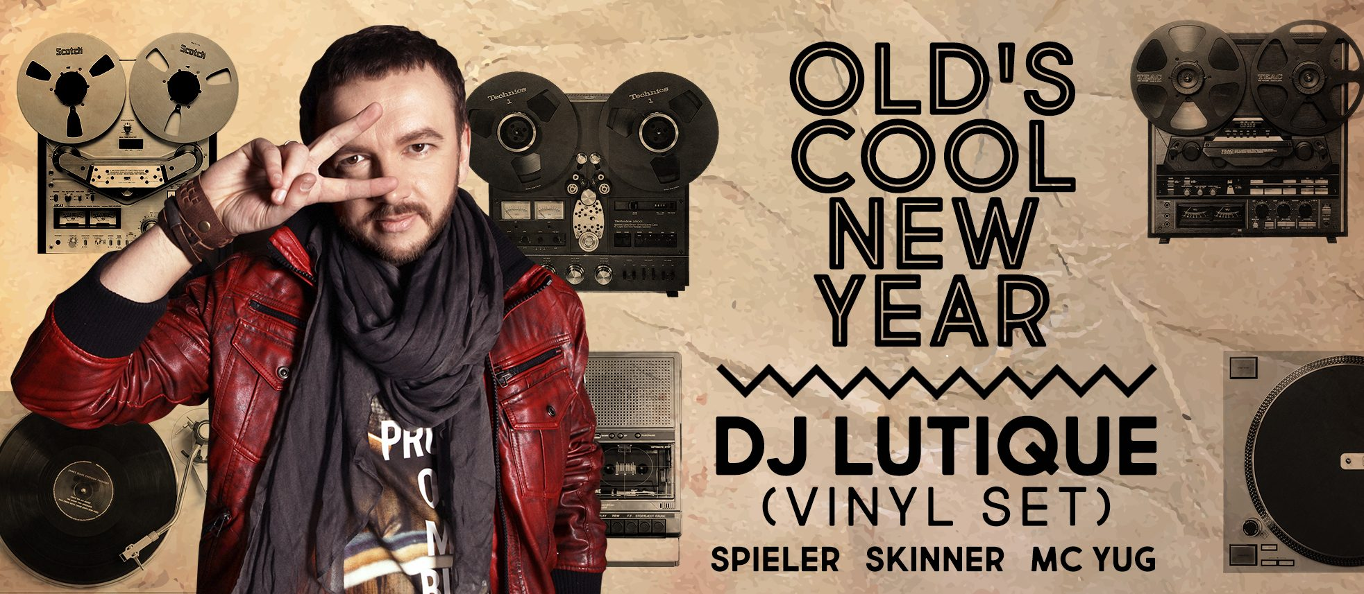 Old's Cool New Year! Dj Lutique (vinyl set)