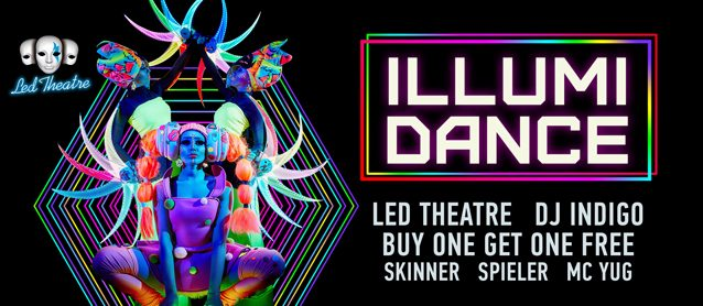 llumiDance. LED Theatre, Buy One Get One Free, Dj Indigo