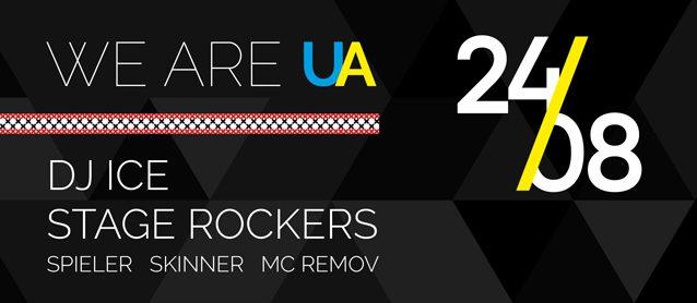 We are UA. Dj Ice, Stage Rockers, Mc Remov