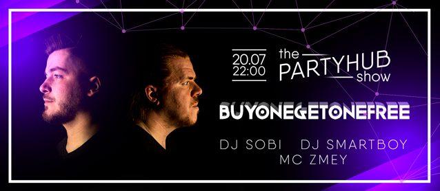 PartyHub show ft BuyOneGetOneFree