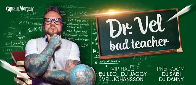Dr. Vel. Bad teacher.