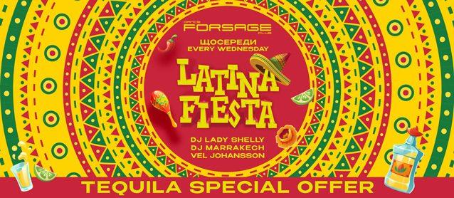 Latino Fiesta. Dj Lady Shelly, Dj Marrakech, Mc Vel Johansson