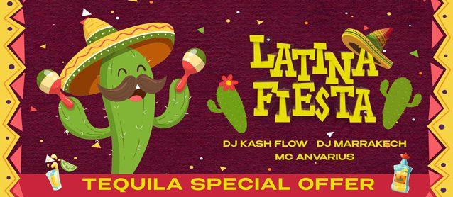 Latino Fiesta. Dj Kash Flow, Dj Marrakech, Mc Anvarius