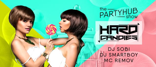 PartyHub show ft. DJ Duo Hard Candies