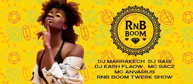 RnB BooM. Dj Marrakech, Dj Sabi, Dj Kash Flow, Mc Sacz, Mc Anvarius.RnB BooM Twerk Show