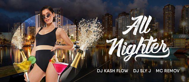 All-Nighter. Dj Kash Flow, Dj Leo, Mc Vitorchik