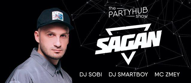 PartyHub show ft. Dj Sagan