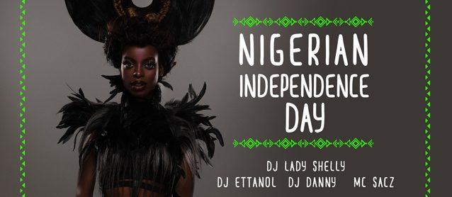 Nigerian Independence day. Dj Lady Shelly, Dj Ettanol, Dj Danny