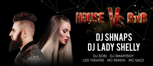 PartyHub show. House vs. R'n'B