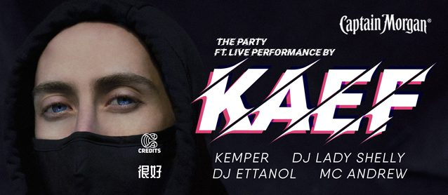 The PARTY ft. KAEF live performance.